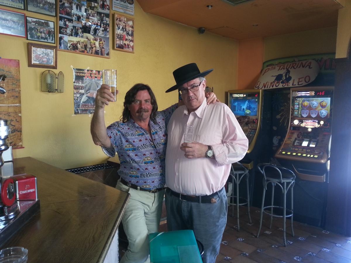 Bars en Ronda con Licor de Higo