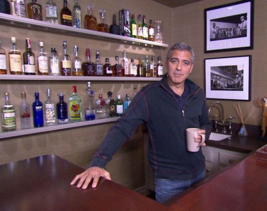 George Clooney besar Coño